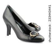 Black Kitten Heel Women Shoes...