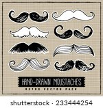 retro style hand drawn... | Shutterstock .eps vector #233444254