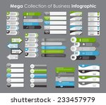 infographic templates for... | Shutterstock .eps vector #233457979