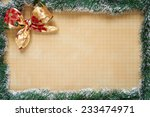 merry christmas and happy new... | Shutterstock . vector #233474971