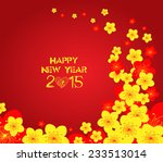 chinese new year   greeting... | Shutterstock .eps vector #233513014
