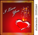 valentines background with...   Shutterstock . vector #23352664