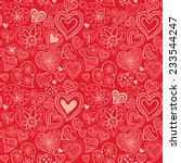 Valentine\'s Day Pattern With...