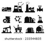 gas and oil icons set    02 | Shutterstock .eps vector #233544835