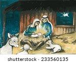 holy family | Shutterstock .eps vector #233560135