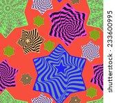 seamless abstract pattern... | Shutterstock . vector #233600995