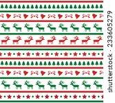 seamless christmas pattern for... | Shutterstock .eps vector #233605279