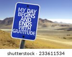 my day begins and ends with... | Shutterstock . vector #233611534