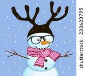 christmas illustration of... | Shutterstock .eps vector #233623795