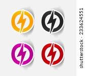 realistic design element ... | Shutterstock . vector #233624551