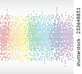 rainbow equalizer background... | Shutterstock .eps vector #233648851