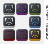 app concept  cat | Shutterstock . vector #233679781