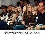 kiev fashion days f w 2014 ... | Shutterstock . vector #233707201