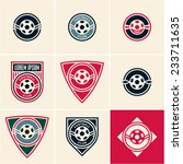 soccer football club logo emblem | Shutterstock .eps vector #233711635