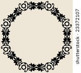floral frame | Shutterstock .eps vector #23372107