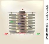 parking multilevel. parking...   Shutterstock .eps vector #233722831