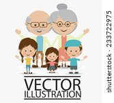 people design over white... | Shutterstock .eps vector #233722975