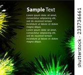 dark green yellow light...   Shutterstock .eps vector #233736661