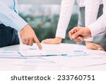 colleagues discussing business...   Shutterstock . vector #233760751