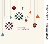 vector christmas design with... | Shutterstock .eps vector #233778019