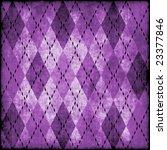 Grungy Argyle Pattern Background