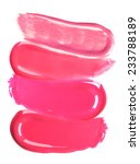 different lip glosses isolated...   Shutterstock . vector #233788189