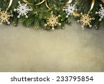 christmas fir tree with... | Shutterstock . vector #233795854