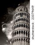 tilted tower of pisa | Shutterstock . vector #23379649