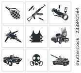 armament vector isolated flat...   Shutterstock .eps vector #233842564