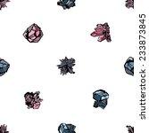 semiprecious crystal mineral... | Shutterstock .eps vector #233873845