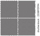 illusion line black and white | Shutterstock .eps vector #233895994