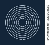vector illustration of round... | Shutterstock .eps vector #233905687
