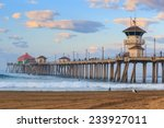 The Huntington Beach Pier At...