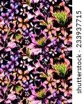 seamless dark tropical pattern. ... | Shutterstock . vector #233937715