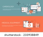 medical flat vector background... | Shutterstock .eps vector #233938849