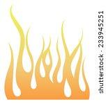 flaming | Shutterstock .eps vector #233945251