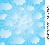 seamless vector illustration of ... | Shutterstock .eps vector #23395021