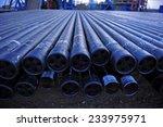 oil drill pipe    Shutterstock . vector #233975971