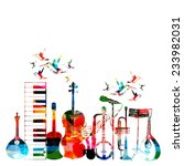 Colorful Musical Instruments...