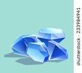 game gems. vector illustration.