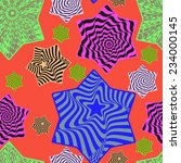 seamless abstract pattern... | Shutterstock .eps vector #234000145