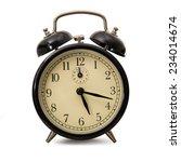 an old alarm clocks on white... | Shutterstock . vector #234014674