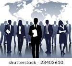 international company | Shutterstock .eps vector #23403610