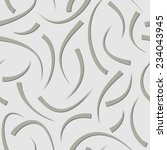 gray seamless pattern with gray ... | Shutterstock .eps vector #234043945