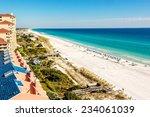 Long Stretch Of Miramar Beach ...