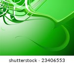 green abstract background | Shutterstock .eps vector #23406553