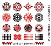 Premium Card Suit Patterns In...