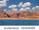 Red Rocks On Eastern Sinai Nea...