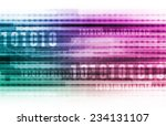 abstract information background ... | Shutterstock . vector #234131107