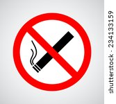 don't smoke sign | Shutterstock .eps vector #234133159